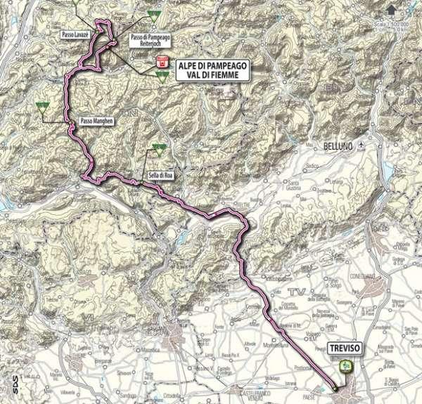 giro d italia 2012 19a tappa 95° Giro d'Italia 19° tappa come raggiungere Pampeago   orari, tracciato e diretta streaming