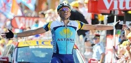 Contador maglia gialla 2009