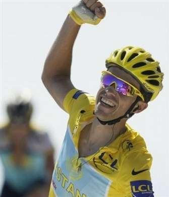 Alberto Contador vince Tour de France 2009