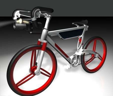 Win-Solar Energy Bike