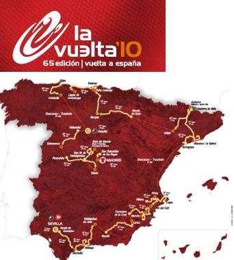Vuelta Spagna 2010 Tappe Percorso