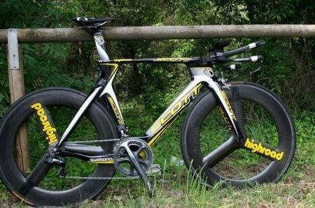 Bicicletta da crono Scott Plasma II