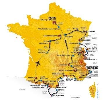 Tour de France 2009 gli iscritti: tutti i ciclisti partecipanti