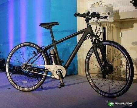 Bici Elettriche Sanyo Eneloop nero