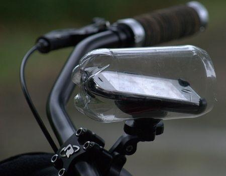 Proteggi l'iPhone in Bici con il fai da te