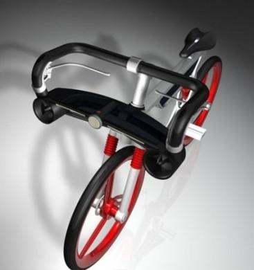 Win-Solar Energy Bike davanti