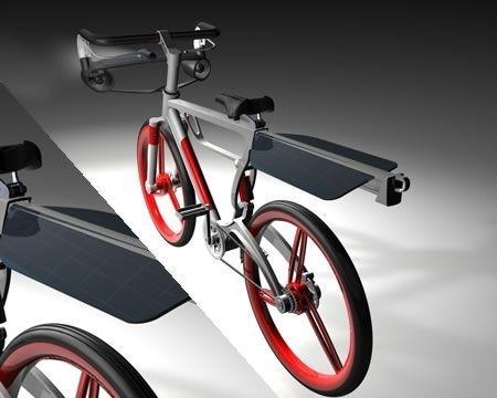 Win-Solar Energy Bike retro
