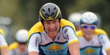 Lance Armstrong crono