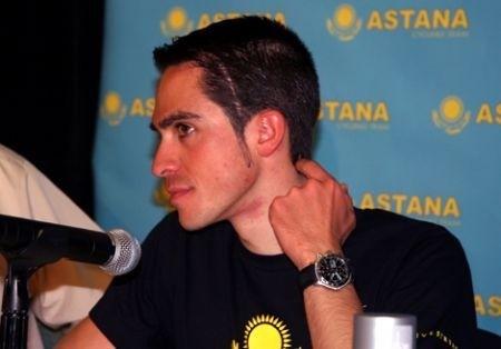Alberto Contador Astana 2010