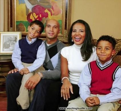 Adrian Fenty famiglia