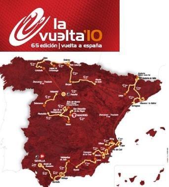 Vuelta di Spagna 2010: tappe, percorso, salite e altimetrie