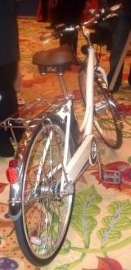 Bicicletta elettrica Sanyo Eneloop retro