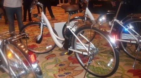 Bicicletta elettrica Sanyo Eneloop lato