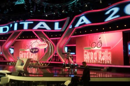 Giro d'Italia 2010 presentazione
