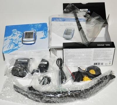Garmin Edge 500: ciclocomputer GPS confezione