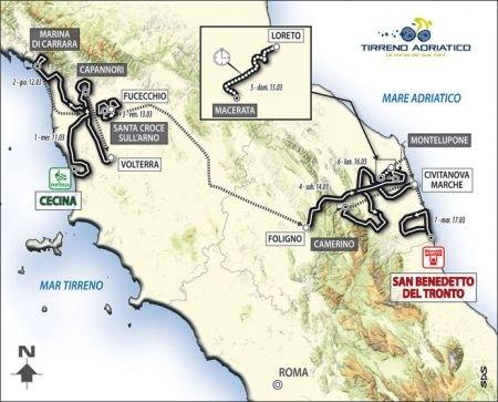 Montepaschi strade bianche, Tirreno-Adriatico, Milano-Sanremo: le squadre partecipanti
