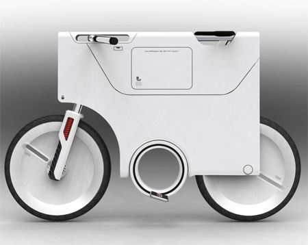 EBIQ Electric Bike lato