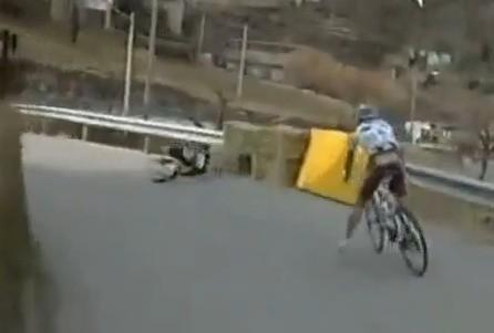 Rinaldo Nocentini caduta