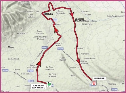 Giro d'Italia Donne 2010 3 tappa