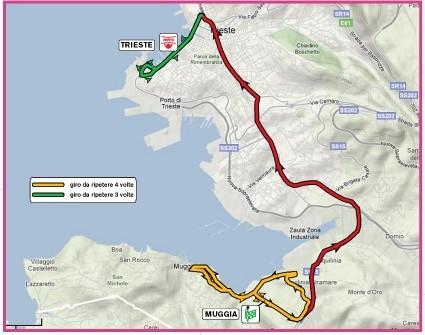 Giro d'Italia Donne 2010 1 tappa