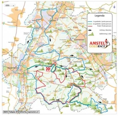 Amstel Gold Race 2010: percorso e squadre partecipanti