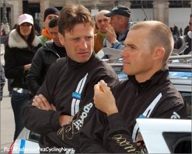 Mirko Celestino e Alessandro Petacchi