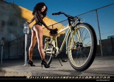 Sexy Cicliste Calendario
