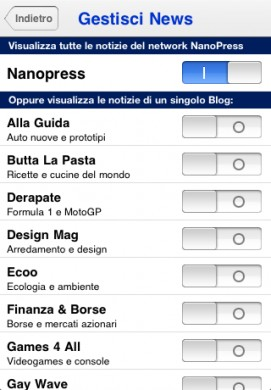 Nanopress iPhone Speciale Mondiali 2010