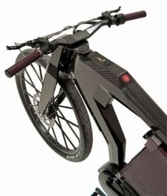 PG-Bikes Black Trai carbonio