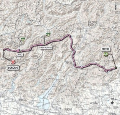 Giro D'Italia 2011 Feltre Sondrio