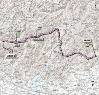 Giro D'Italia 2011 Feltre Sondrio