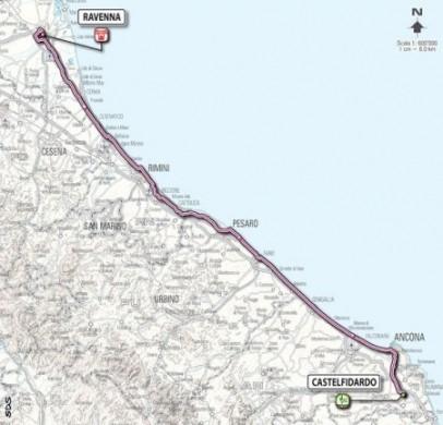 Giro D'Italia 2011 Castelfidardo Ravenna