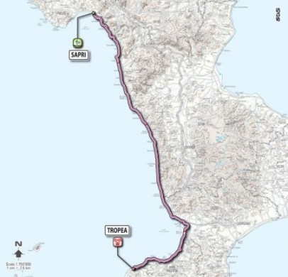 Giro D'Italia 2011 Sapri Tropea