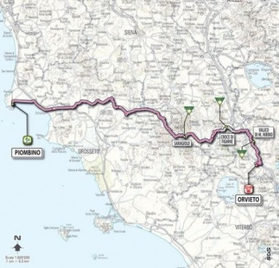 Giro D'Italia 2011 Piombino Orvieto