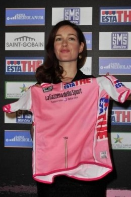 Maglie Giro d'Italia 2011 Cristiana rosa