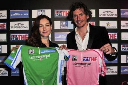 Maglie Giro d'Italia 2011 rosa verde
