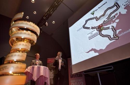 Giro d'Italia 2012 presentazione