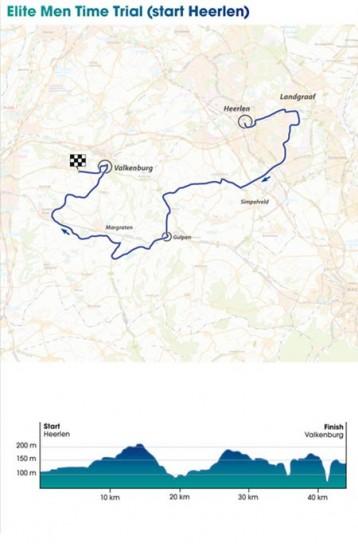 Mondiali Ciclismo 2012 uomini