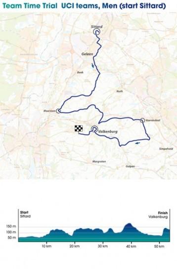 Mondiali Ciclismo 2012 cronometro squadre