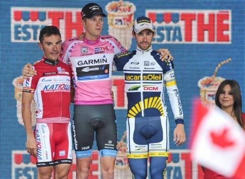 Giro d'Italia 2012 podio