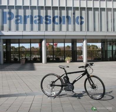 Panasonic Titanium Flat Road EB bike
