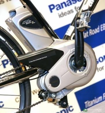 Panasonic Titanium Flat Road EB pedale