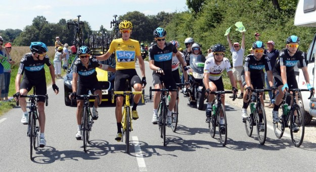 Tour de France 2012, Team Sky