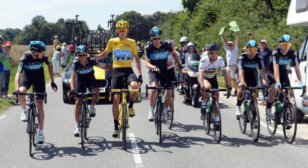 Tour de France 2012, Team Sky