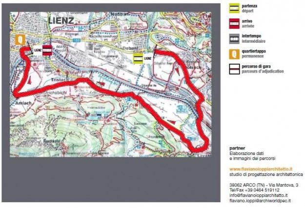 Giro del Trentino 2013 1a tappa cronometro Lienz