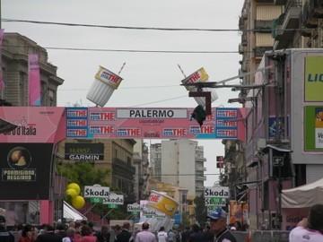Giro d'Italia 2008: Cronoprologo a squadre a Palermo in diretta