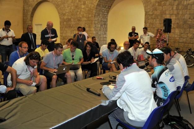 Giro d'Italia, conferenza stampa (2)