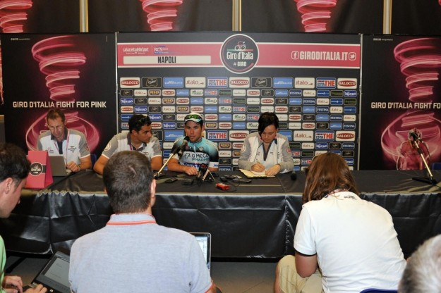Giro d'Italia, conferenza stampa