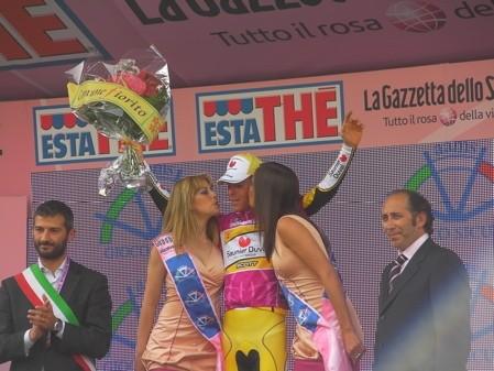 Riccardo Riccò Tivoli Giro 2008