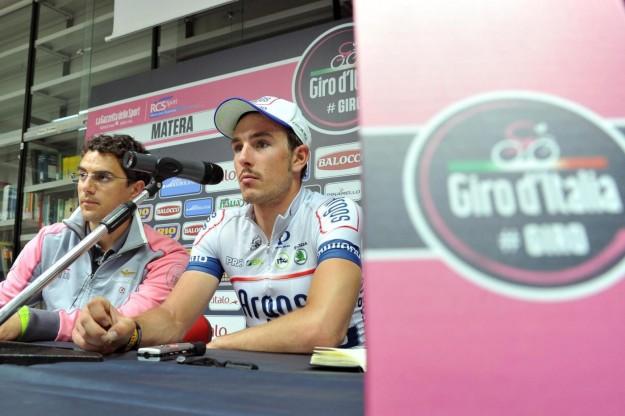 Quinta tappa giro d'Italia, conferenza stampa quinta tappa (2)
